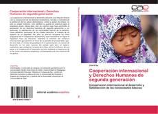 Buchcover von Cooperación internacional y Derechos Humanos de segunda generación