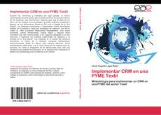 Buchcover von Implementar CRM en una PYME Textil
