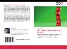Обложка De sujetos y de textos en la red