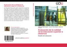 Buchcover von Evaluación de la calidad en la educación superior a distancia