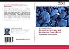 Borítókép a  La indisponibilidad del patrimonio hereditario - hoz