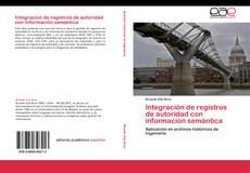 Buchcover von Integración de registros de autoridad con información semántica