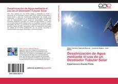 Portada del libro de Desalinización de Agua mediante el uso de un Destilador Tubular Solar