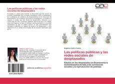 Buchcover von Las políticas públicas y las redes sociales de desplazados