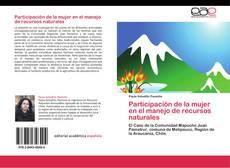 Couverture de Participación de la mujer en el manejo de recursos naturales