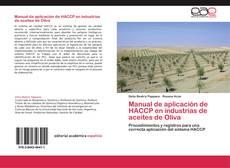 Capa do livro de Manual de aplicación de HACCP en industrias de aceites de Oliva