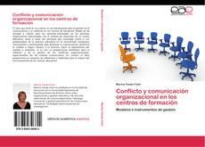 Buchcover von Conflicto y comunicación organizacional en los centros de formación