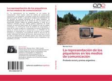 Buchcover von La representación de los piqueteros en los medios de comunicación