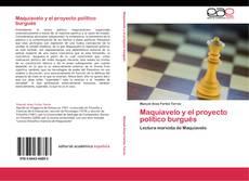 Buchcover von Maquiavelo y el proyecto político burgués