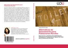 Portada del libro de Alternativas de Saneamiento para Poblaciones Rurales