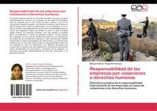 Portada del libro de Responsabilidad de las empresas por violaciones a derechos humanos