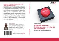 Buchcover von Relación entre los Stakeholders y el valor de las empresas