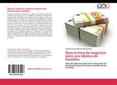 Bookcover of Nueva linea de negocios para una fabrica de muebles