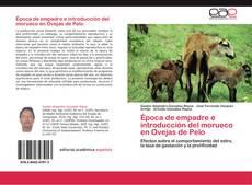 Capa do livro de Época de empadre e introducción del morueco en Ovejas de Pelo