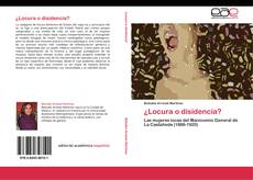 Buchcover von ¿Locura o disidencia?