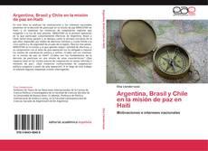 Buchcover von Argentina, Brasil y Chile en la misión de paz en Haití