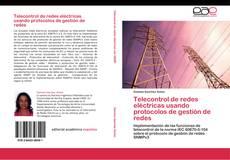 Buchcover von Telecontrol de redes eléctricas usando protocolos de gestión de redes