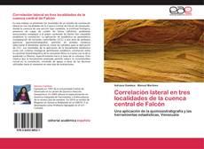 Portada del libro de Correlación lateral en tres localidades de la cuenca central de Falcón