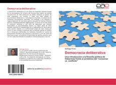 Copertina di Democracia deliberativa