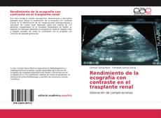 Rendimiento de la ecografía con contraste en el trasplante renal的封面