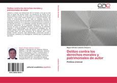 Buchcover von Delitos contra los derechos morales y patrimoniales de autor
