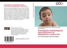 Capa do livro de Estrategias metodológicas para favorecer la adaptación a sala cuna