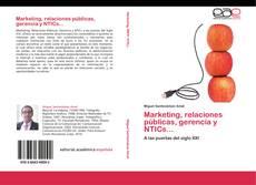Buchcover von Marketing, relaciones públicas, gerencia y NTICs...