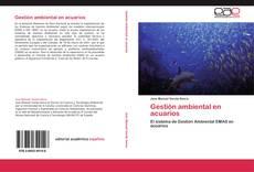 Portada del libro de Gestión ambiental en acuarios