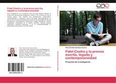 Portada del libro de Fidel Castro y la prensa escrita, legado y contemporaneidad
