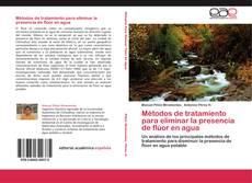 Portada del libro de Métodos de tratamiento para eliminar la presencia de flúor en agua
