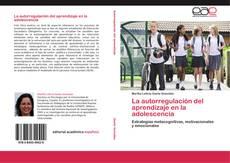 Portada del libro de La autorregulación del aprendizaje en la adolescencia
