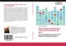 Обложка Aprendizaje significativo crítico del concepto de gen