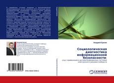 Обложка Социологическая диагностика информационной безопасности: