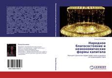 Buchcover von Народное благосостояние и неэкономические формы капитала