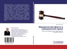 Portada del libro de Юридические факты в гражданском праве