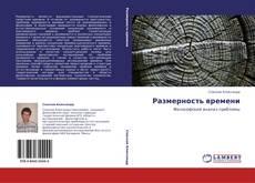 Buchcover von Размерность времени