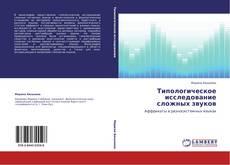 Обложка Типологическое исследование сложных звуков