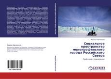 Bookcover of Социальное пространство монопрофильного города Российского Севера