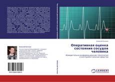 Buchcover von Оперативная оценка состояния сосудов человека