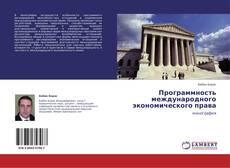 Программность международного экономического права的封面