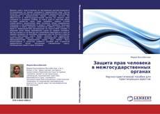 Обложка Защита прав человека в межгосударственных органах