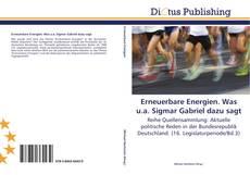 Bookcover of Erneuerbare Energien. Was u.a. Sigmar Gabriel dazu sagt