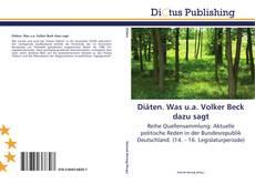Bookcover of Diäten. Was u.a. Volker Beck dazu sagt