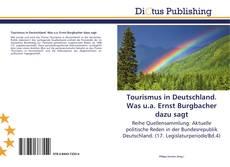 Buchcover von Tourismus in Deutschland. Was u.a. Ernst Burgbacher dazu sagt