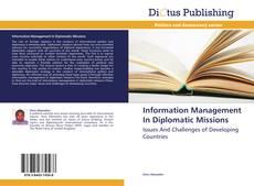 Couverture de Information Management In Diplomatic Missions