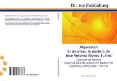 Buchcover von Afganistán  Entre otras, la postura de José Antonio Alonso Suárez