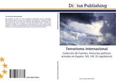 Bookcover of Terrorismo internacional