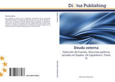 Bookcover of Deuda externa