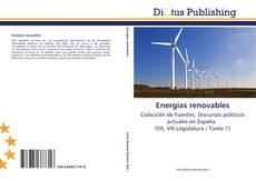 Portada del libro de Energías renovables
