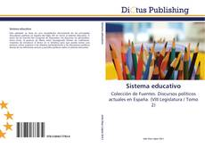Portada del libro de Sistema educativo
